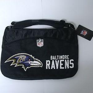 NFL Baltimore Ravens Jersey Mini Purse